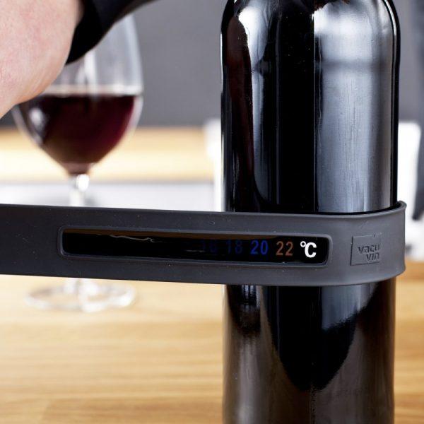 Vacu Vin Snap Thermometer Grey
