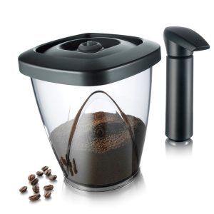 Tomorrow's Kitchen Vacuum Coffee Storage Saver with Pump 44oz