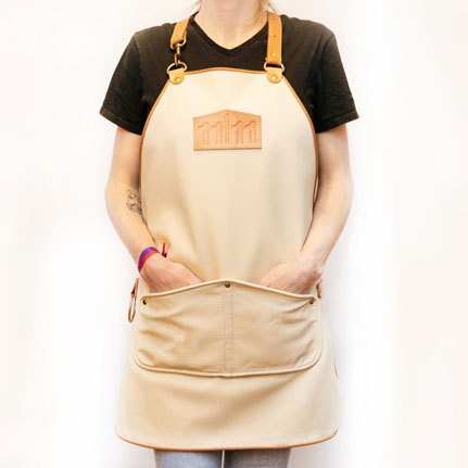 Leather Cooking & Grilling Apron